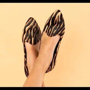 NWOB Gibson & Latimer Ellie Tiger Print Haircalf